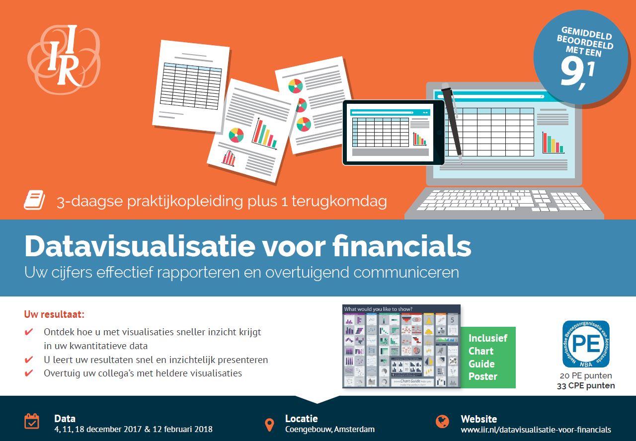 Nieuwe training: Datavisualisatie voor financials